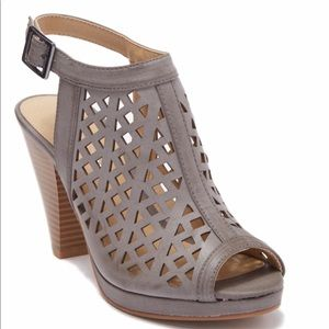 NEW Sandals Chinese Laundry Laser Cut Peep Toe 8
